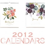 RIFLE PAPER * 2012 CALENDAR SALE
