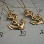 ETSY * NEW ANCHOR EARRINGS