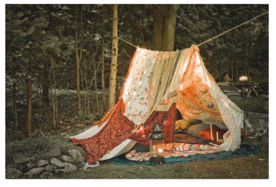 RECREATE * CAMPING INSIDE