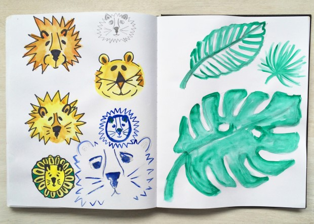 sketchbook-5.6-lions