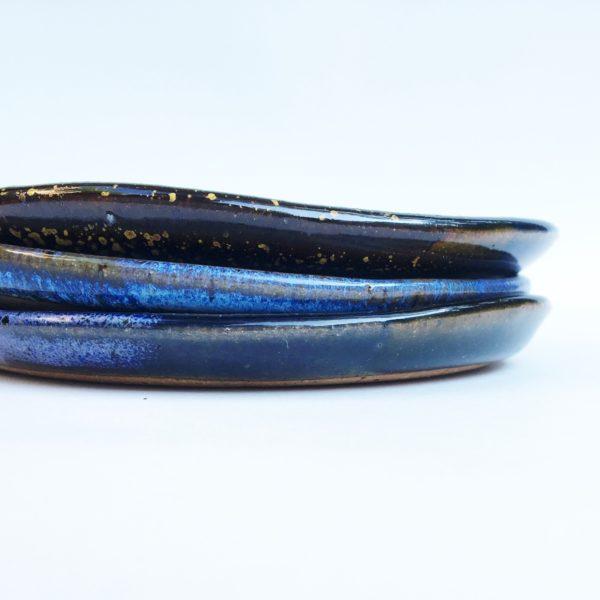 Handmade Ceramic Ring Dish Night Sky